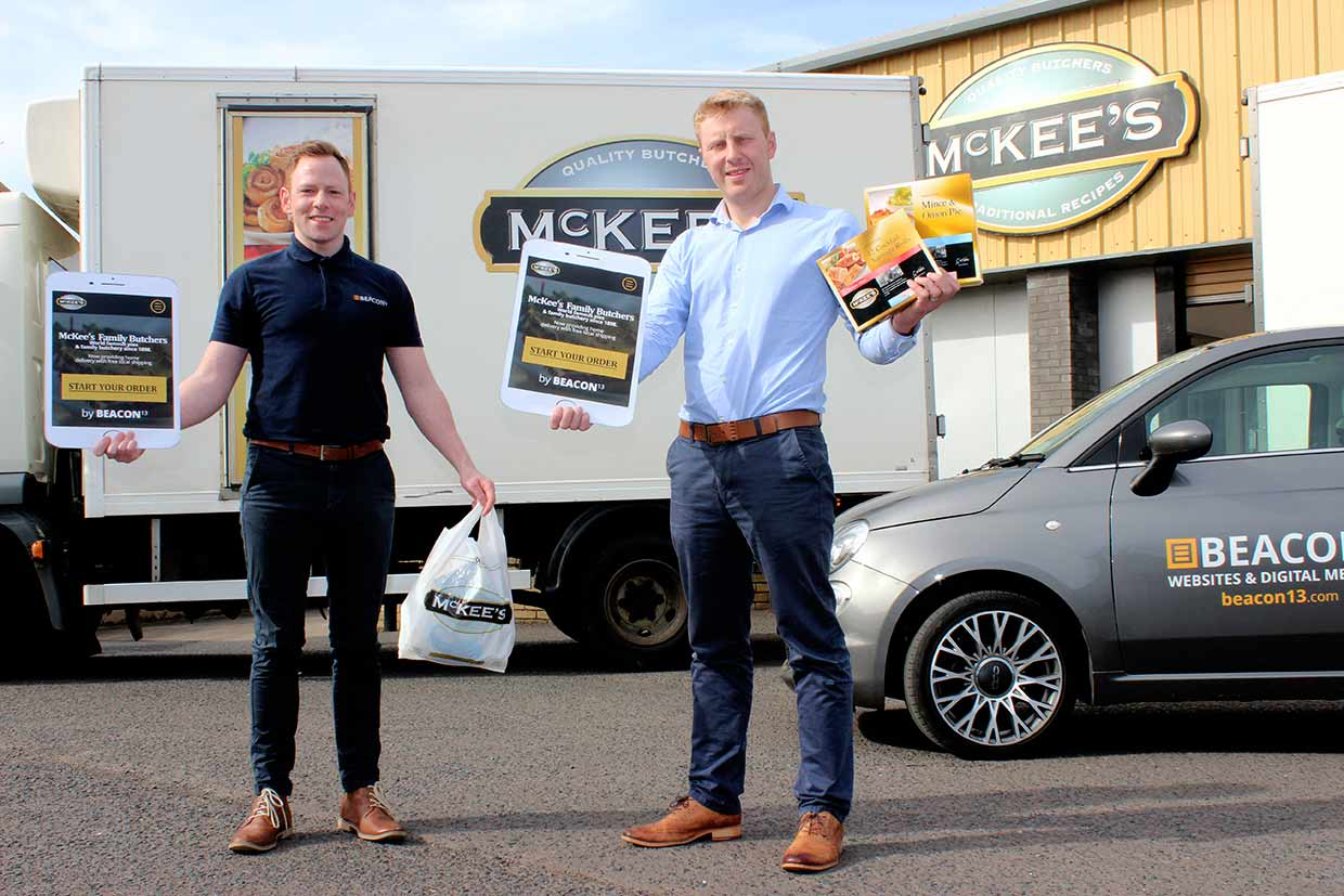 mckees website with beacon13. directors conor o'kane and paul gibson